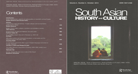 SOUTH ASIAN HISTORY AND CULTURE
